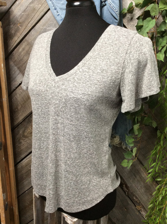 Z Supply - Grey V-Neck T-Shirt