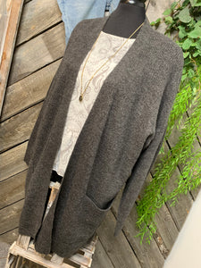 Gentle Fawn - Ravenswood Cardigan in Charcoal