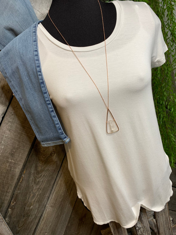 Gentle Fawn - Alabama T-Shirt in White