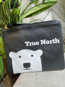 "Giftware - Zippered Purse ""True North"""