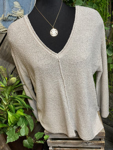 Gentle Fawn - Florentine in Light Grey