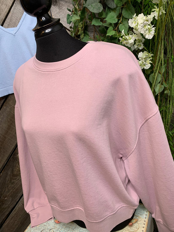 Frank & Oak - Pale Pink Sweatshirt