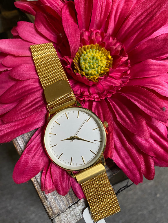Jewelry - Watches - White Face Magnetic Strap