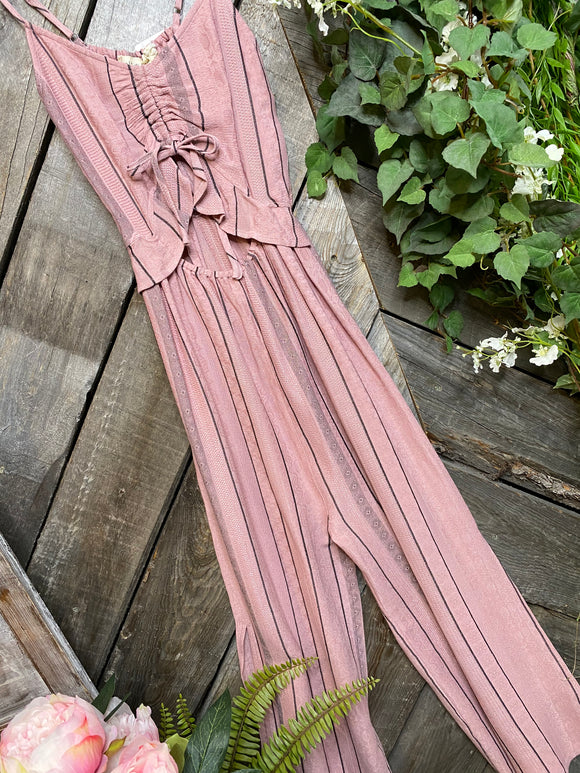 Saltwater Luxe - Dusty Rose Jumpsuit