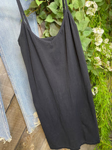 Free People - Black Fitted Slip