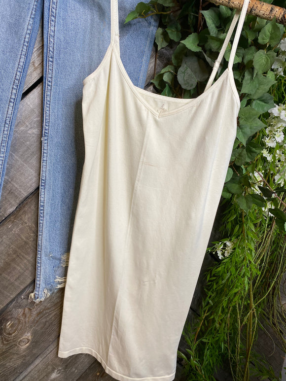 Free People - Ivory Fitted Slip