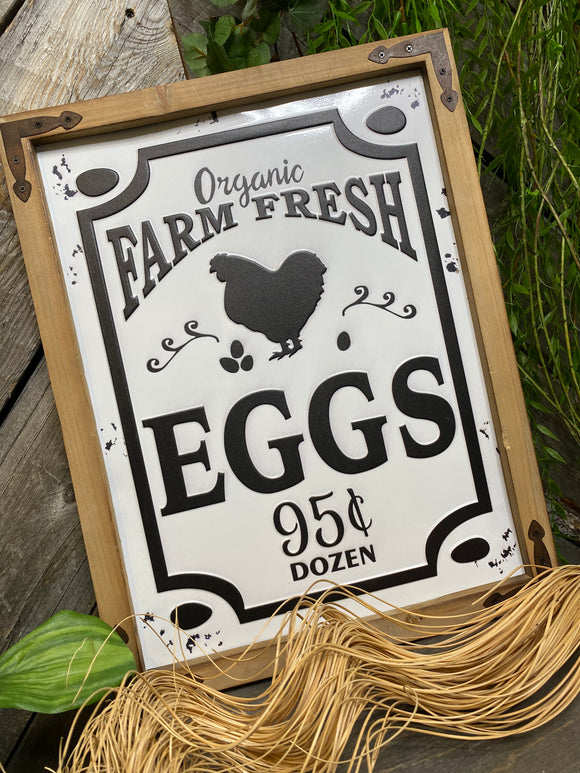 Giftware - Farm Fresh Eggs Picture