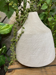 Giftware - Grey Vase with Small Opening