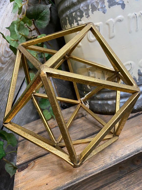 Giftware - Small Gold Hexagon