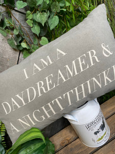 Giftware - Daydreamer & Night Thinker Pillow