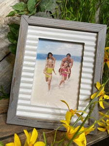 Giftware - 4X6 Grey Wood Frame