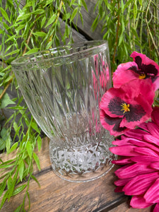 Giftware - Heavy Clear Short Vase
