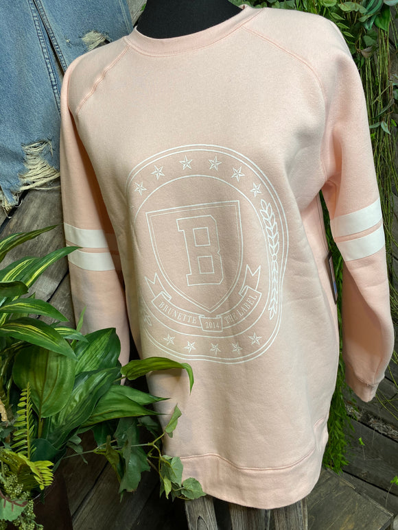 Brunette The Label - Light Pink Sweater