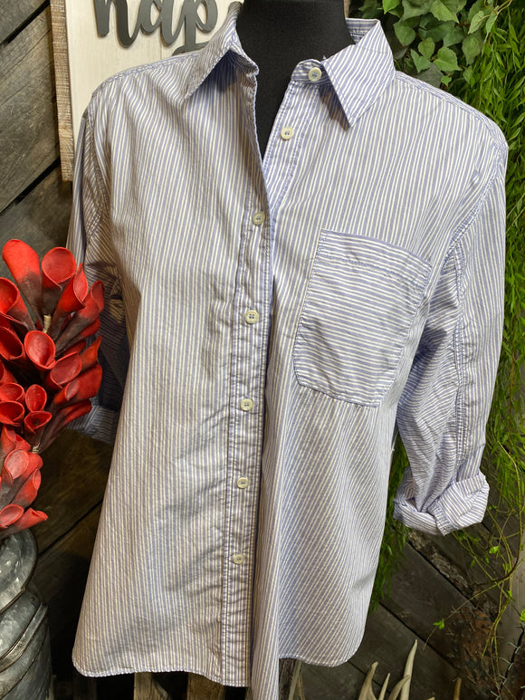 Blowout Sale - FP Pin Stripe Shirt