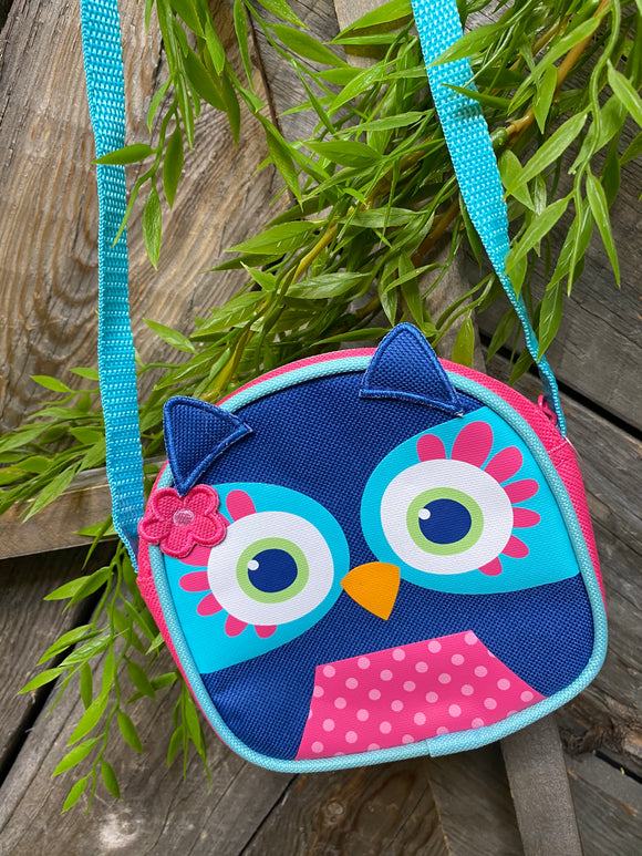 Toys - Canvas Purse with Owl