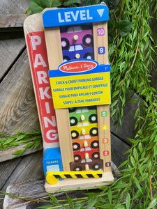 Toys - Melissa & Doug Stack & Count Parking Garage
