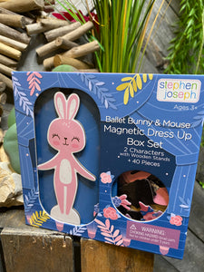 Toys - Stephan Joseph Ballet Bunny & Mouse Magnetic Dress Up Box Set