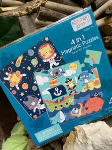 Toys - Stephan Joseph 4 in 1 Magnetic Puzzles in Space