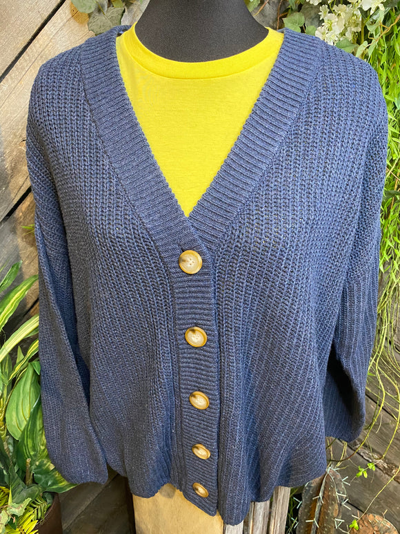 Sadie & Sage - Navy Kit Sweater