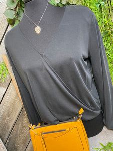 Gentle Fawn - Leah Shirt in Carbon