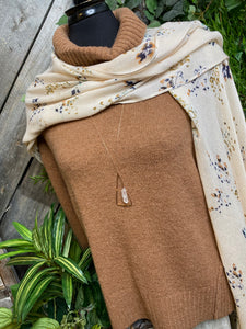 Gentle Fawn - Benfrew Sweater in Ginger