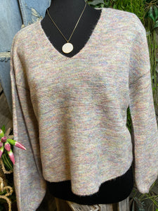 Gentle Fawn - Mayer Sweater in Rainbow