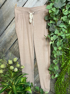Z Supply - Ribbed Pants in Beige