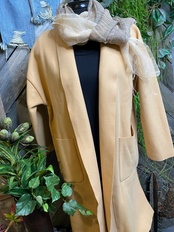 Sadie & Sage - Coat in Camel