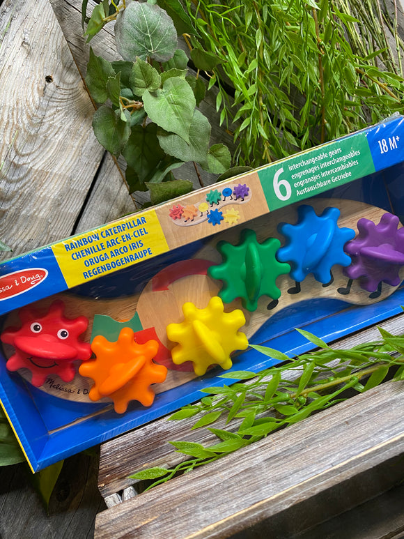 Baby Boutique - Melissa & Doug Rainbow Caterpillar