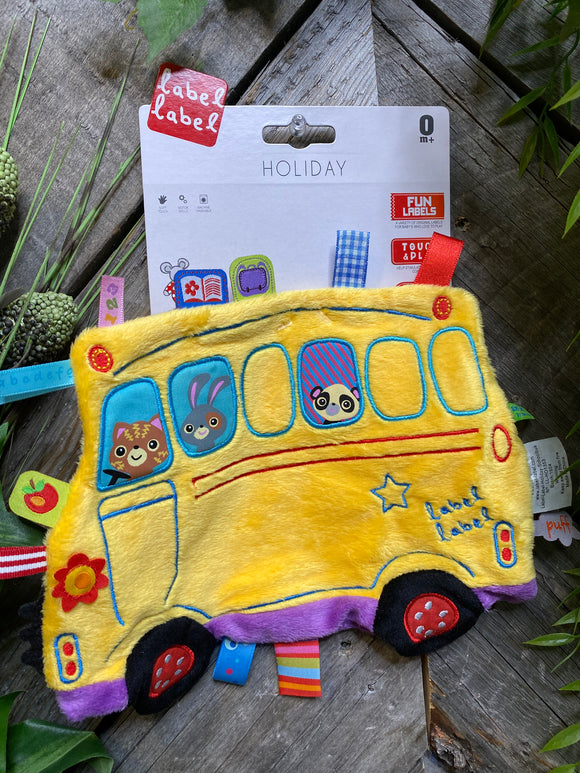 Baby Boutique - Label Label Yellow Bus Touch & Play