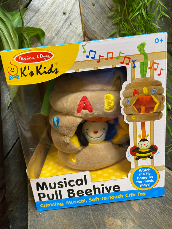 Baby Boutique - Melissa & Doug Musical Pull Beehive