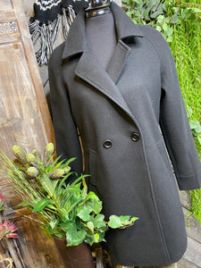 Charlie Paige - Dress Coat in Black
