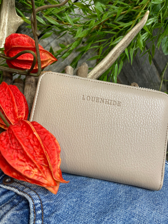 Louenhide - Eden Wallet in Putty