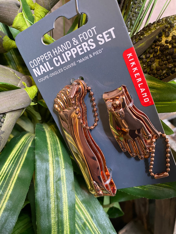 Self Care - Nail Clippers Set in Copper