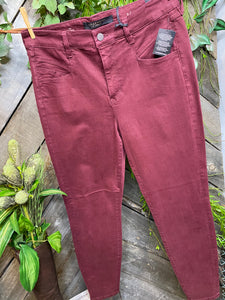 Liverpool - Abby Skinny in Oxblood