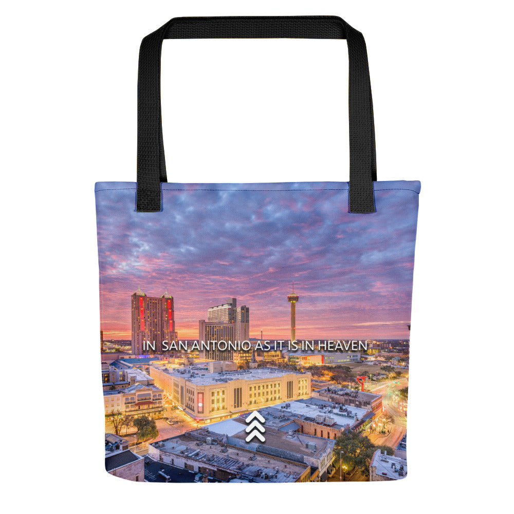 As It Is In Heaven - Tote Bag