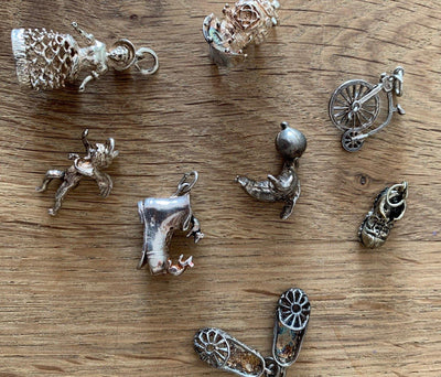 Keeping Sterling Silver Charms Shiny : Hands-Free and Eco-Friendly
