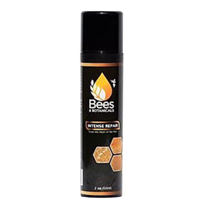 An image of the Bees and Botanicals Intense Repair Bottle with the logo on the front.