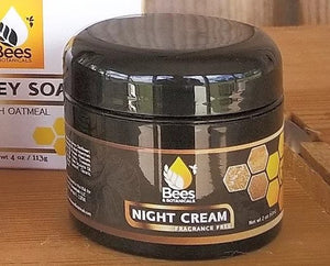 Fragrance Free Luxurious Tupelo Honey Night Cream