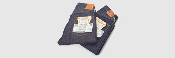 The Devil in the Detail 004: Full Count S0105W 13.75oz WWII Wide Straight Jean (Rinsed)