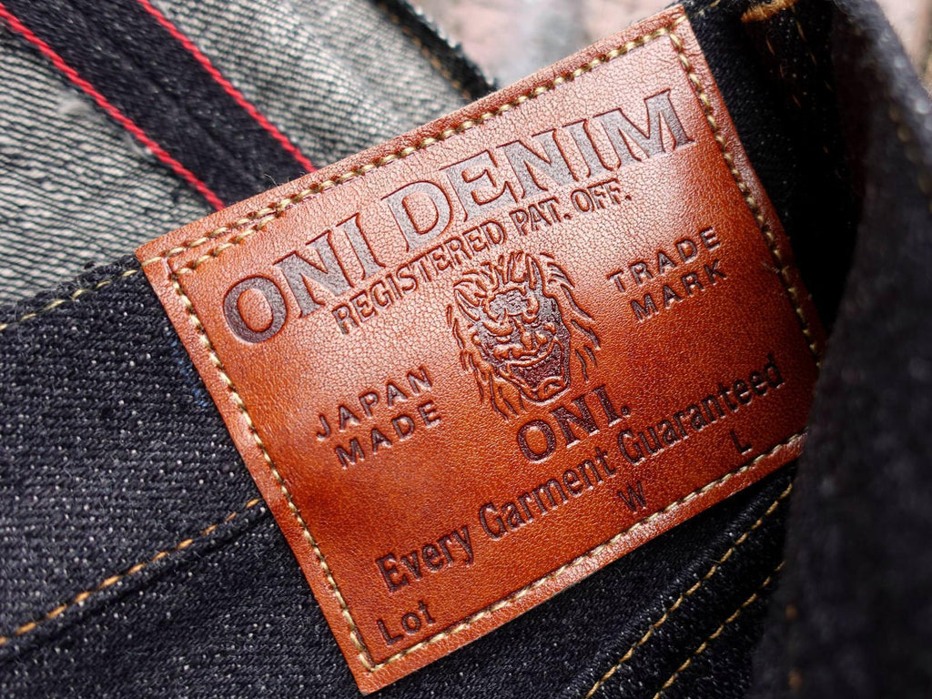 Image of ONI Denim Leather Patch