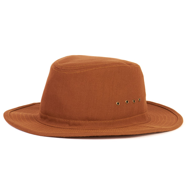 Freewheelers 2027013 'Smokey Bear' Woodsman Hat (Brown)