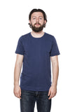 Merz b. Schwanen 215 Army Shirt Berlin Blue