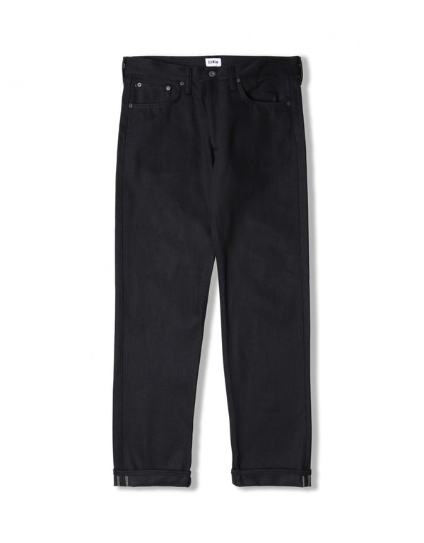 Edwin ED-45 White Listed Black Selvage Jeans