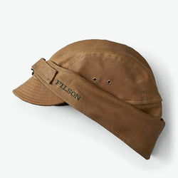 Filson Tin Cloth Wildfowl Hat (Dark Tan)