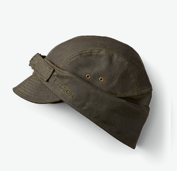 Filson Tin Cloth Wildfowl Hat (Otter Green)