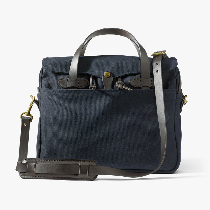 Filson Rugged Twill Original Briefcase (Navy)
