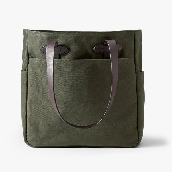 Filson Rugged Twill Tote Bag (Otter Green)