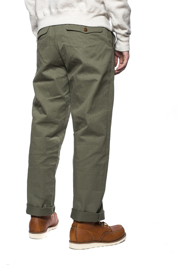 Gorouta 0409 Loose Trouser (Olive)
