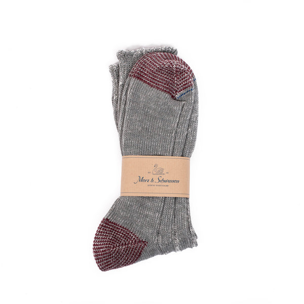 Merz b. Schwanen W72 Merino Wool Socks (Forest/Nature)